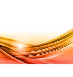 abstract orange background downside vector image