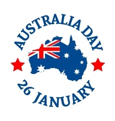 Australia Day Background vector image