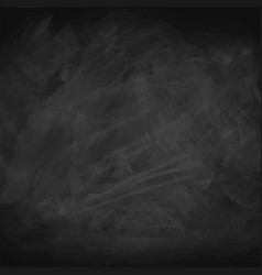 black chalkboard background vector image