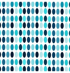 Blue ovals abstract vintage background vector