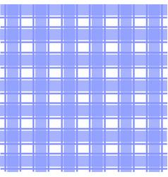 blue scotch pattern vector image