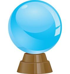 Crystal ball icons vector