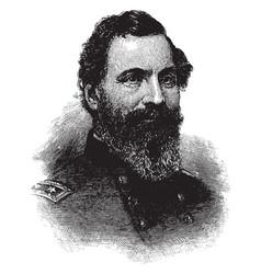 general john sedgwick vintage vector image