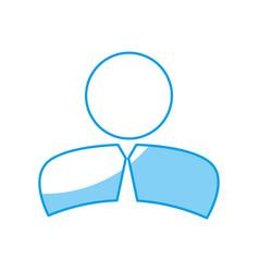Pictogram businessman icon vector