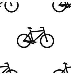 Seamless pattern for wrapping food products Bike vector image