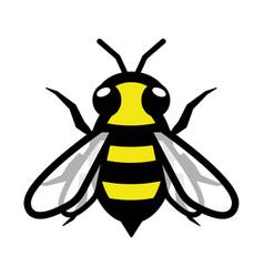 bee logo symbol icon sign vector image