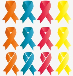 Ribbon symbol vector