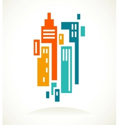 real estate icon and element vector image vector image