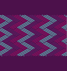 concept zig-zag seamless geometry pattern vector image