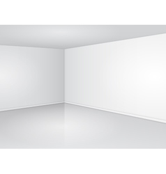 White Room Corner vector image
