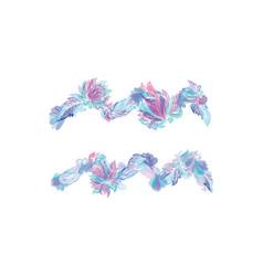 Aquarius zodiac sign in tender tribal design vector