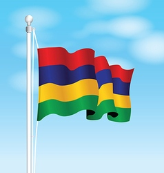 mauritius flag vector image