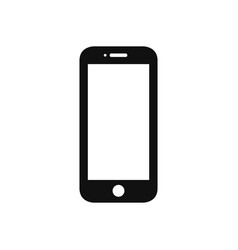 mobile phone icon in modern design style for web vector image