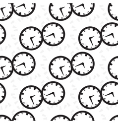 Seamless pattern collection with watches vector image