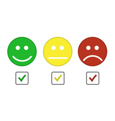 Smiley emoticons icon vector