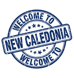 Welcome to new caledonia vector