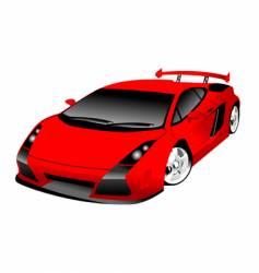 Lamborghini Gallardo vector image vector image