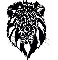 A lion vector