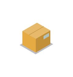carton storage image isolated on white background vector image