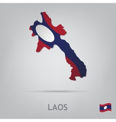 country laos vector image
