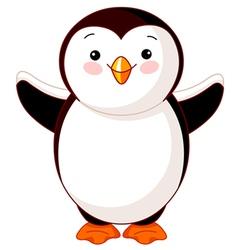 Cute bapenguin vector