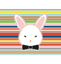 Cute Rabbit Head vector