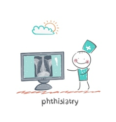 Phthisiatry vector