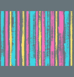 Sloopy gouache vertical lines pattern vector