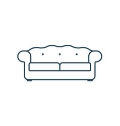 Sofa icon or sign design vector