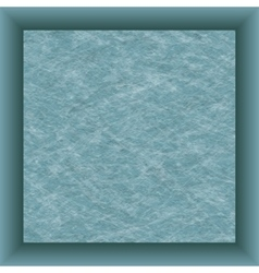 blue paper square and shadow vector image