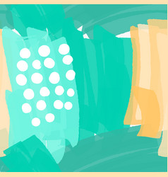 abstract green with white dots vector image vector image
