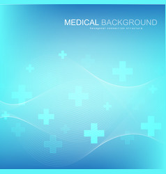 abstract medical background dna research molecule vector image