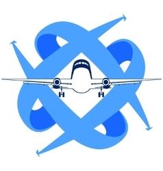 Civil aviation vector