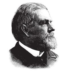 general john newton vintage vector image