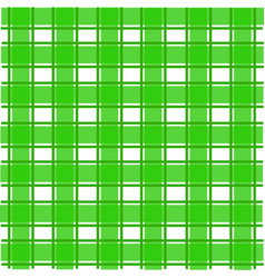 green scotch pattern vector image