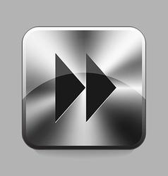 Metallic buton vector