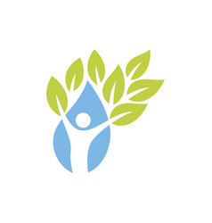 People gree healthy logo vector