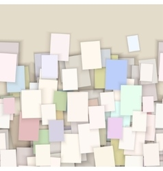 seamless paper note background vector image