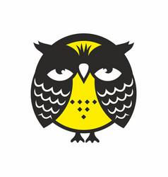 Sleepy owl vector