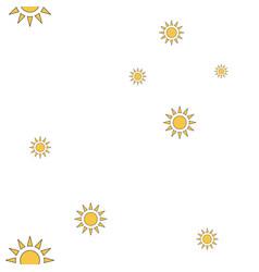 Sun pattern vector