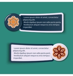 Colorful Web Stickers Tags and Labels vector image