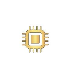 Cpu computer symbol vector