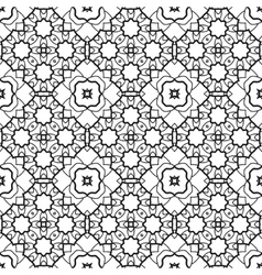 Pattern for coloring book seamless decorative vector