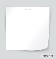White paper vector