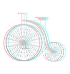 imaginative bike vector image