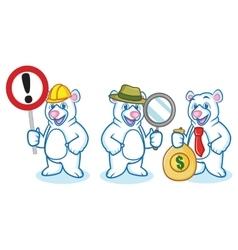 Polar Bear Mascot vector image