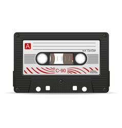 Audio cassette 04 vector
