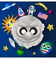 Cosmonautics day vector