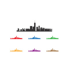Manhattan town logo vector
