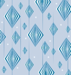 blue retro background vector image
